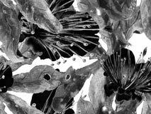 Djärv blommamodell vektor illustrationer