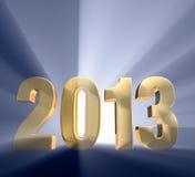 Djärvt år 2013 Fotografering för Bildbyråer
