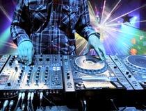 dj混合夜总会跟踪 向量例证