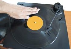 DJ混合 库存图片