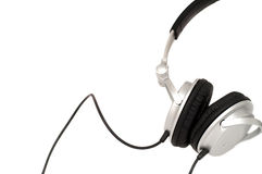 DJ耳机 免版税库存照片
