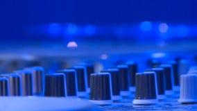 DJ音乐控制台 股票视频