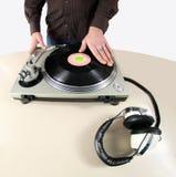DJ übergeben Lizenzfreies Stockfoto