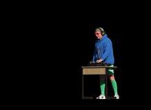 DJ αστείο Στοκ Εικόνες