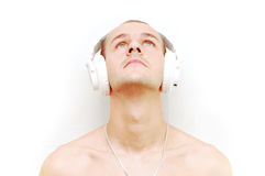 DJ που ανατρέχει στοκ φωτογραφία