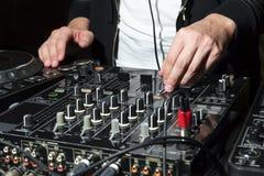 DJ на ночном клубе party Стоковые Изображения RF