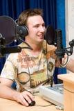 dj передает по радио Стоковое фото RF