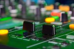 DJ стоит Стоковая Фотография