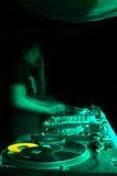 DJ lizenzfreie stockfotografie