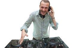 DJ στοκ φωτογραφία