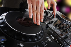 Dj Stock Photo