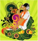 DJ vector illustratie