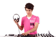 DJ Royalty Free Stock Photo