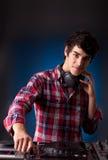 DJ Imagem de Stock
