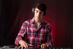 DJ Royalty Free Stock Photography