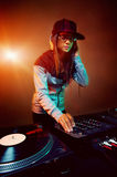In DJ Stock Foto