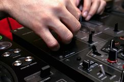 The DJ royalty free stock image
