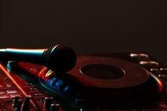 DJ Stock Afbeelding