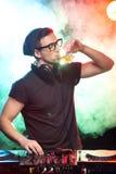 DJ Royalty-vrije Stock Foto's