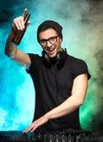 DJ Royalty-vrije Stock Afbeeldingen