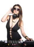 DJ Royalty-vrije Stock Afbeelding