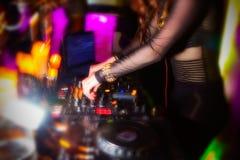 DJ Στοκ εικόνα με δικαίωμα ελεύθερης χρήσης