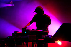 DJ Royalty Free Stock Images