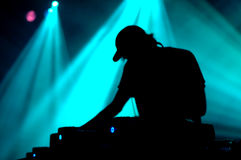 DJ Fotografia de Stock Royalty Free