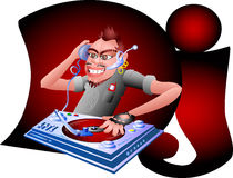DJ libre illustration