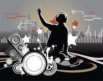 DJ Στοκ φωτογραφία με δικαίωμα ελεύθερης χρήσης