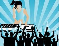 DJ Lizenzfreie Stockfotos