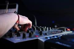 DJ Foto de archivo libre de regalías