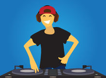 DJ Fotos de Stock Royalty Free
