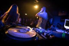 DJ Royalty-vrije Stock Foto