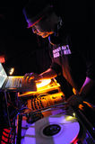 DJ Adam 12 performing live. Royalty Free Stock Image