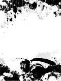 DJ- afficheachtergrond royalty-vrije illustratie