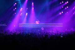 DJ Armin Van Buren am Erscheinen NUR ARMIN stockfotos
