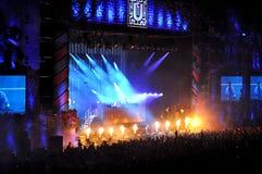 Dj ATB performs a live concert Royalty Free Stock Photos