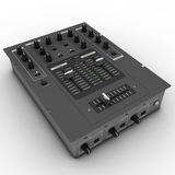 DJ Battle Mixer Stock Image