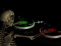DJ beent 2 uit royalty-vrije illustratie