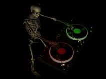DJ beent 3 uit vector illustratie