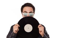 DJ binnen Stock Fotografie