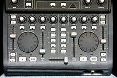 dj-blandare arkivbild