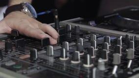 DJ Board DJ stock video
