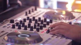 DJ Board DJ stock footage