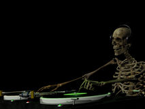 DJ Bones 1 Royalty Free Stock Photos