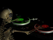 DJ Bones 2 Royalty Free Stock Image