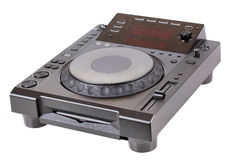 Dj cd player Royalty Free Stock Photography