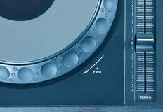 Dj cd player Stock Photos