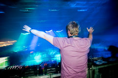 Dj at the concert Royalty Free Stock Images